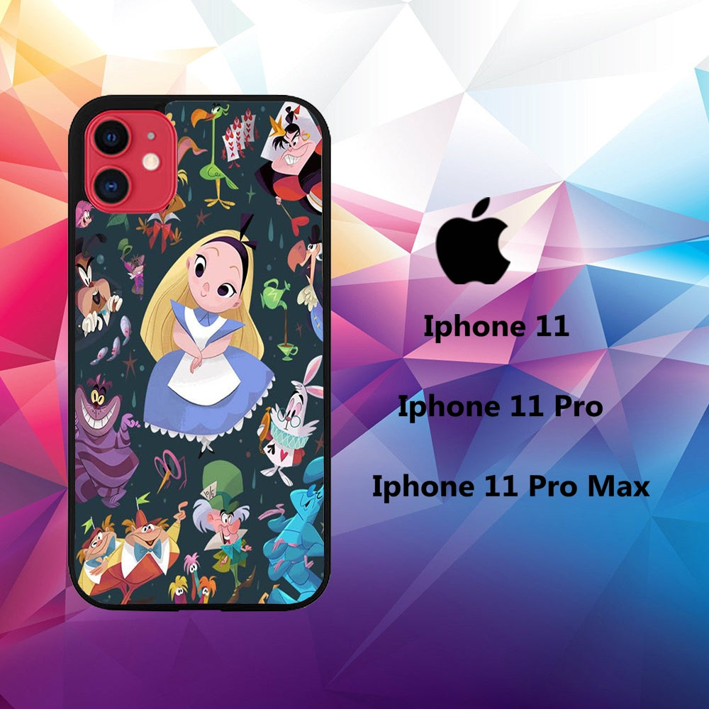 coque iphone 11 pro max alice in wonderland