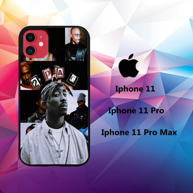 coque iphone 11 pro max case S6392 tupac wallpaper iphone 98oO0