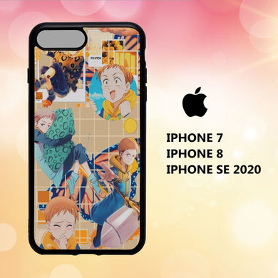 coque iphone 5 6 7 8 plus x xs xr case B1171 wallpaper nanatsu no taizai 129lJ1
