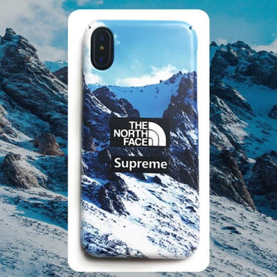 Coque iPhone XRSupreme The North Face Alps Coque Compatible iPhone XR
