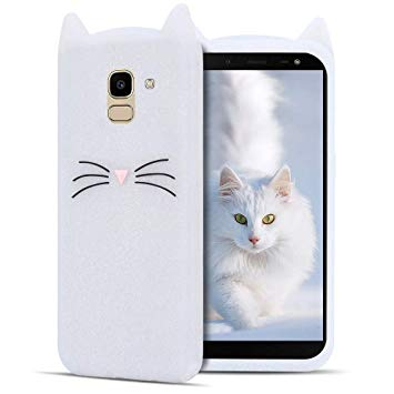 coque chat galaxy j6