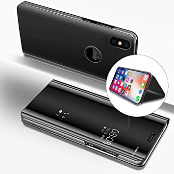 coque etui miroir iphone xr