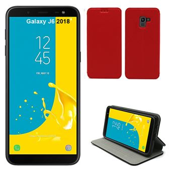 coque galaxy j6 rouge