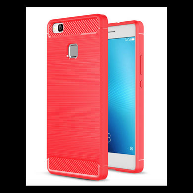 coque huawei p9 lite rouge silicone