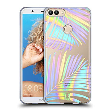 coque huawei p smart palmier
