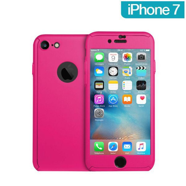 coque integral iphone 7 rose