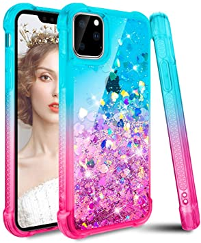 coque iphone 11 paillettes liquides