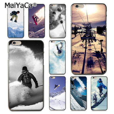 coque iphone 11 snowboard