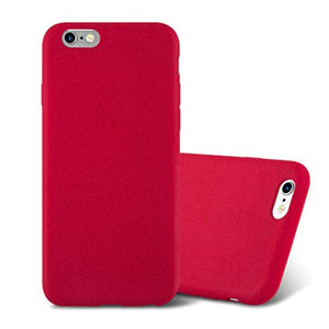 coque iphone 6 plus silicone rouge