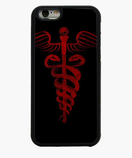 coque iphone 6 rouge sang