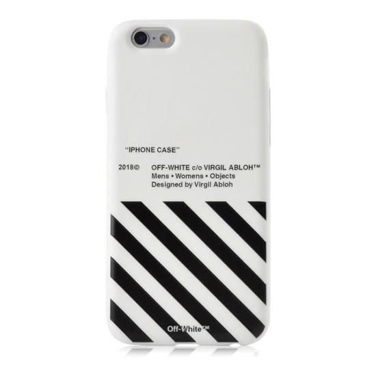 coque iphone 7 off white silicone
