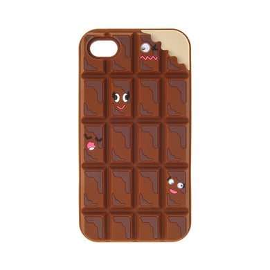 coque iphone 7 plus chocolat 3d