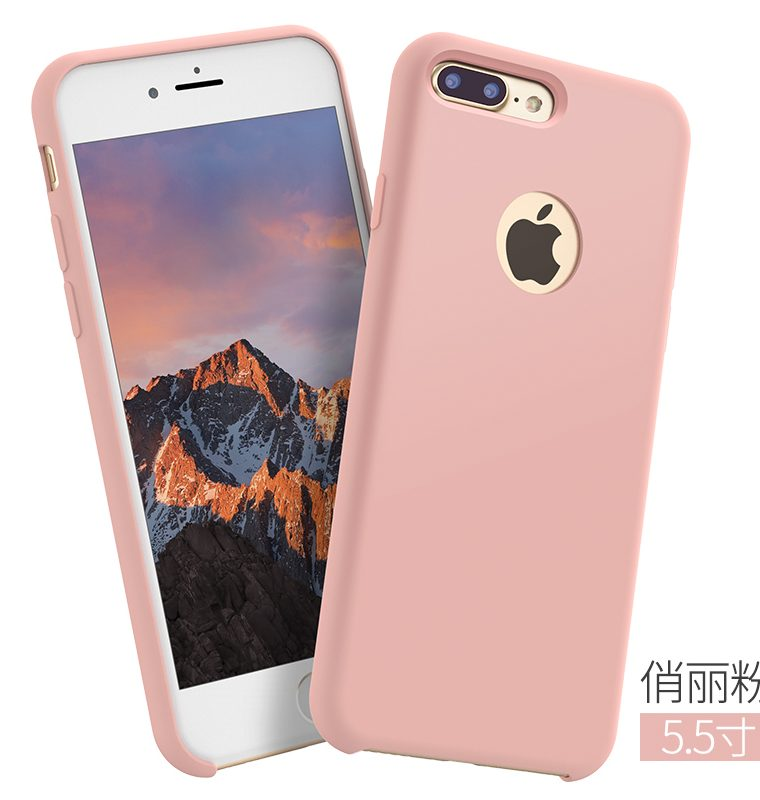 coque iphone 7 plus silicone pastel