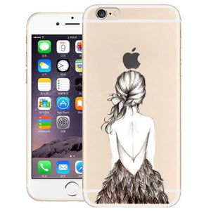 coque iphone 7 silicone dessin