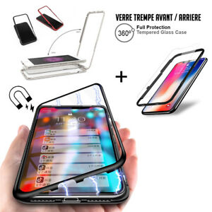 coque iphone xr aimantee 360