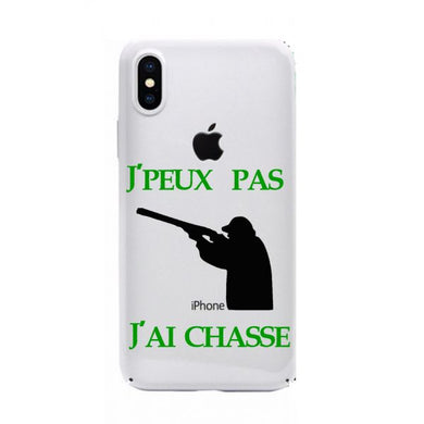 coque iphone xr chasse