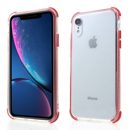 coque iphone xr contour rouge