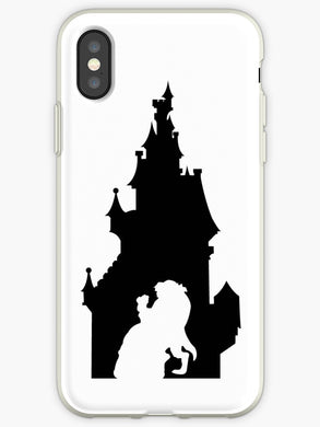 coque iphone xr disney la belle et la bete