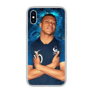 coque iphone xr kylian mbappe
