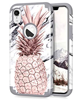 coque iphone xr motif ananas