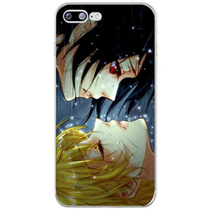 coque iphone xr naruto transparente