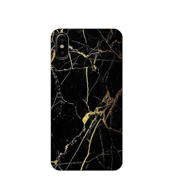 coque iphone xr noir marbre
