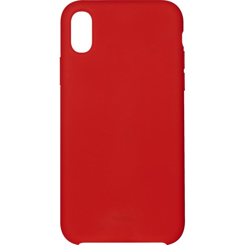 coque iphone xr rigide rouge