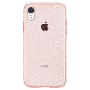 coque iphone xr rose crystal