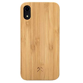 coque iphone xr silicone bois