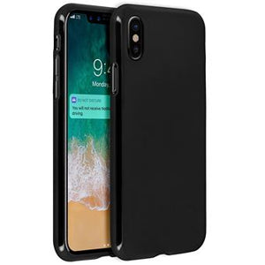 coque iphone xr silicone mat