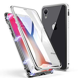 coque iphone xr transparente avant arriere