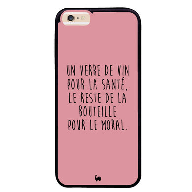 coque iphone xr verre de vin