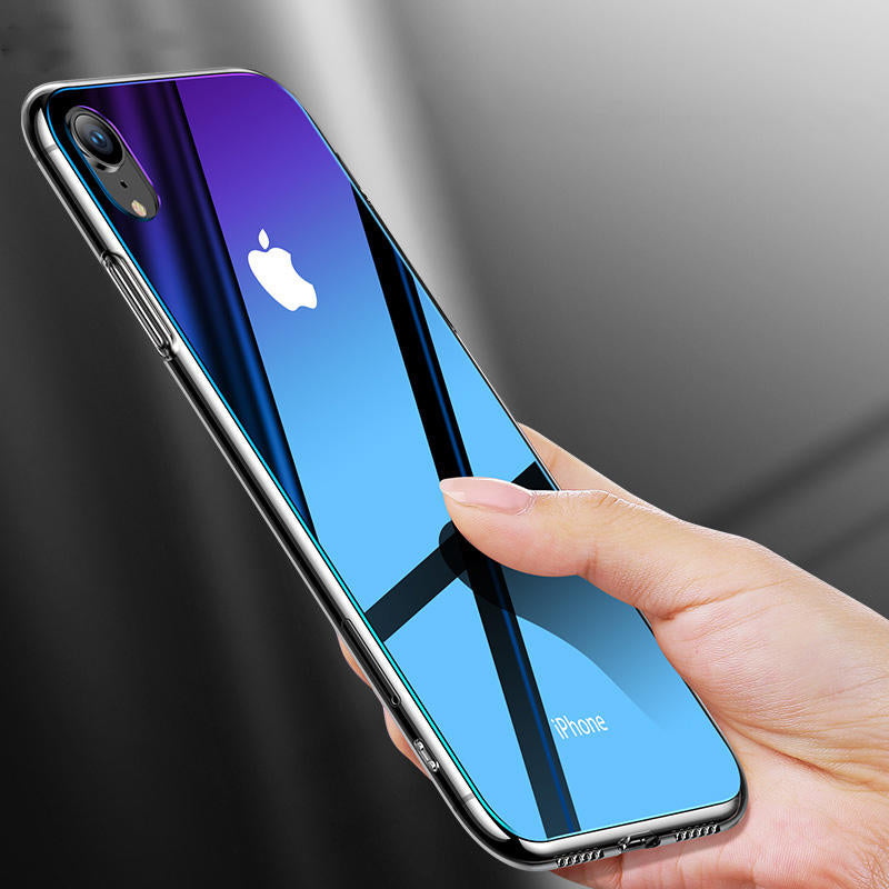 coque iphone xr verre trempe arriere dessin