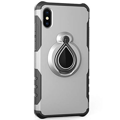 coque iphone xs avec support magnetique