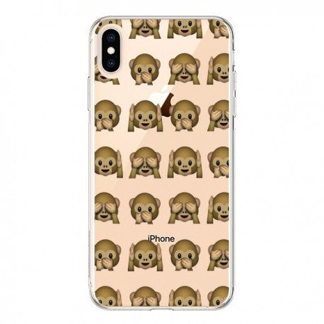 coque iphone xs max emoji