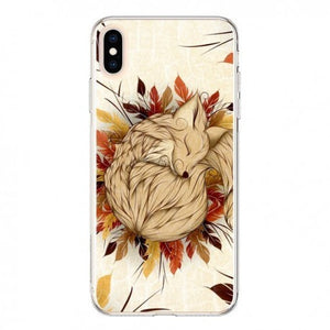 coque iphone xs renard