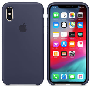 coque iphone xs silicone apple