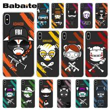 coque raimbow six siege iphone xs