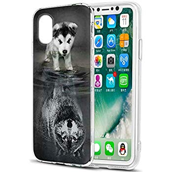 coque samsung a10 animaux loup