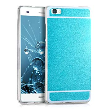 coque silicone bleue huawei p8 lite 2015