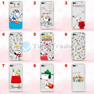coque silicone iphone 7 snoopy