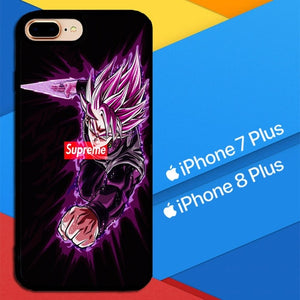 Goku saiyan supreme X8588 coque iPhone 7 Plus , iPhone 8 Plus
