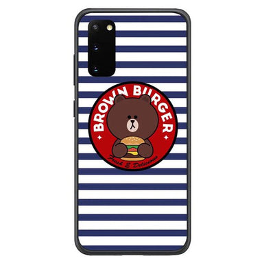 Brown Burger L0664 coque Samsung Galaxy S20, S20 5G