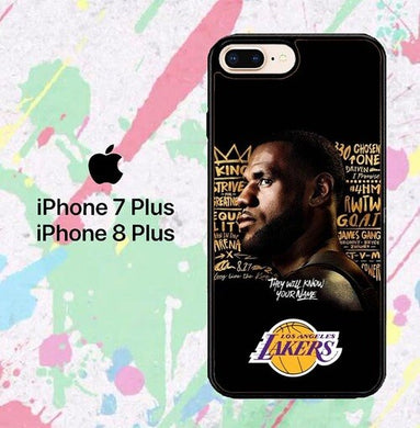 Lakers W8908  iPhone 7 Plus , iPhone 8 Plus