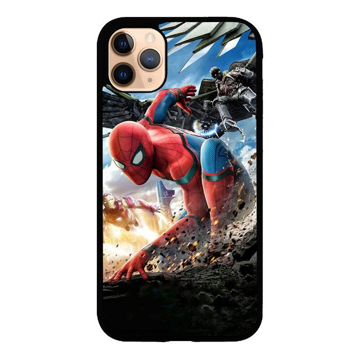 spiderman homecoming Z4987 iPhone 11 Pro Max coque