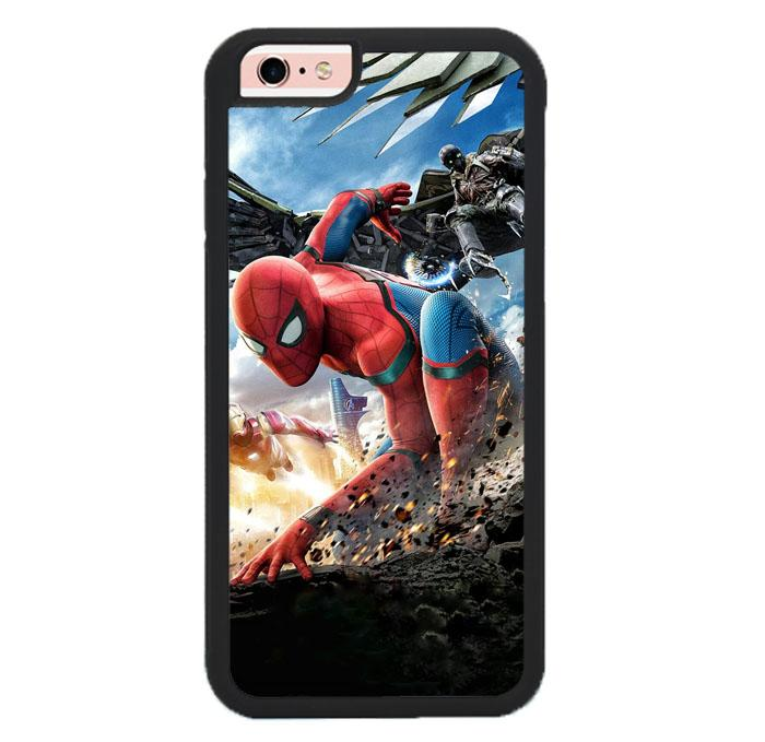 spiderman homecoming Z4987 iPhone 6 , 6S coque