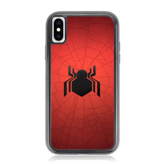 spiderman homecoming logo Z4989 iPhone XS Max coque