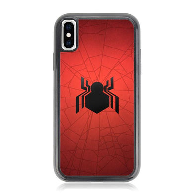 spiderman homecoming logo Z4989 iPhone X, XS coque