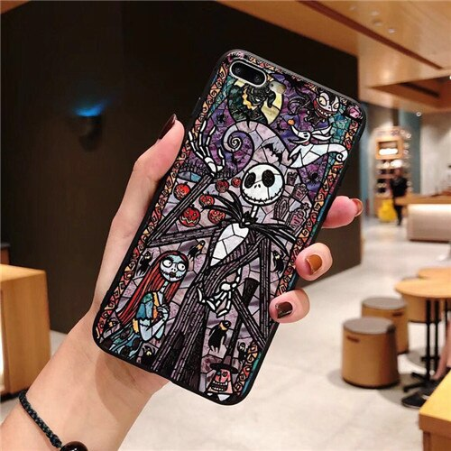 Études pour iPhone x max xr x 8 7 plus Jack hollowen fundas coque