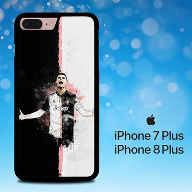 CR7 CRISTIANO RONALDO P1530 coque iPhone 7 Plus , iPhone 8 Plus